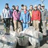 Shoreline cleanup held in Midland