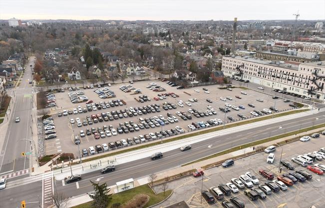 Manulife Parking Lot Kitchener