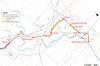 Preliminary preferred route