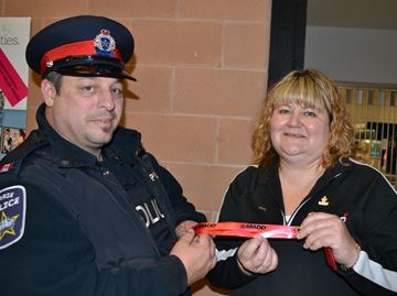 Barrie police and MADD kick off Festive RIDE campaign