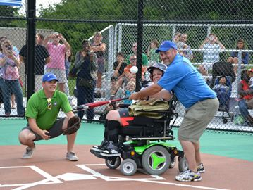 Miracle League baseball field opens