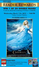 Reader Reward: Cinderella Contest