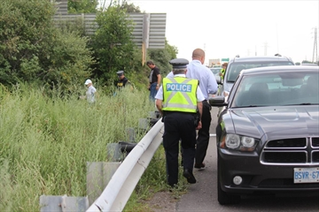 A 44-year-old Welland man, who had previously been reported missing, was identified as the person found dead in a vehicle off the QEW in Grimsby.