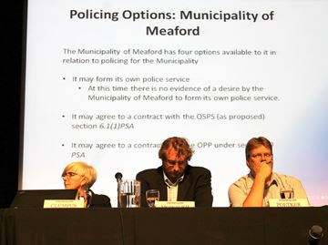 Meaford delays policing decision