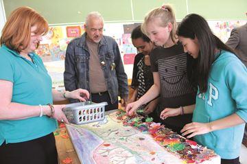 Pleasant Park students honour residential school survivors through art
