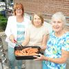 Busby thanks church with barbecue