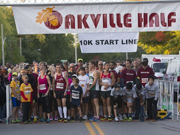 Oakville Half Marathon set for Sunday
