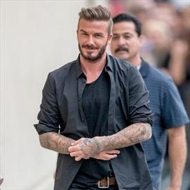 David Beckham to support James Corden's American dream-Image1