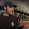 Actor Tom Hardy admits he can be 'lazy' on set