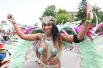 Toronto Caribbean Carnival Grand Parade gets started at Exhibition place