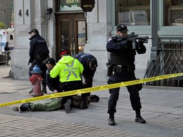 Takedown day after Parliament shootings