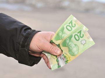 Money returned to owner