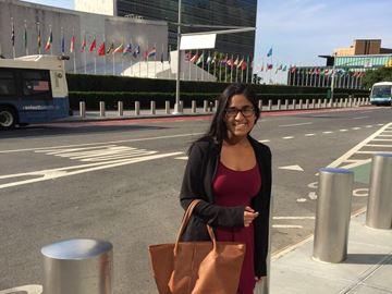 United Nations intern