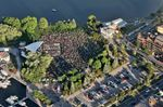 Del Crary Musicfest aerial view