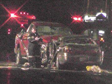 Crash on Hwy. 7 east of Peterborough - July 24, 2015
