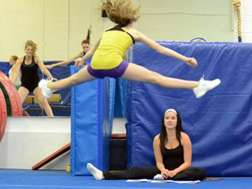 The London Heat Cheerleading club hosted tryouts this weekend (May 25 and 26) in hopes of expanding on the team's tree provincial titles last year.