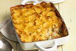 Turkey pie with potato topping great way to use leftovers