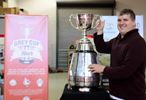 Steve with Grey Cup