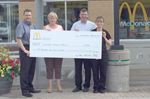 Alliston hospice receives McHappy Day proceeds