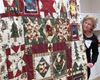 Betty Brown's Christmas quilts