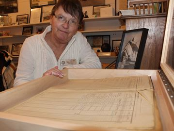 Register for first Wasaga school in archives