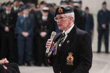 Base Borden remembers Canada's soldiers