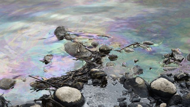 'Significant Quantity' Of Petroleum Spills Into Grand In