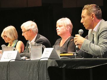 Simcoe North byelection candidates get feisty at Midland debate