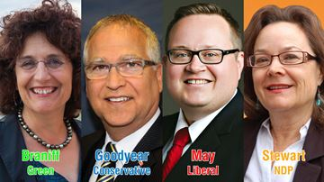 Local federal candidates