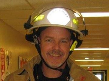 Shelburne fire chief Brad Lemaich