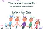 Tylor's Toy Drive helped 21 Huntsville families over the holiday season
