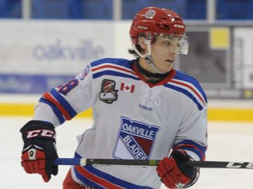 Misley leads Oakville Blades to 5-4 win