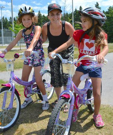 Barrie kids coast on new bikes through Canadian Tire Jumpstart program