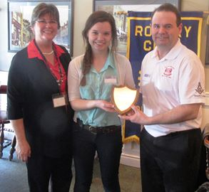 Rotary honours student of the semester