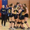 D10 sr. girls volleyball Lourdes vs. Ross