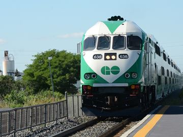 UPDATED: GO Train briefly stopped at Oakville's Bronte Station following alleged sexual assault on train