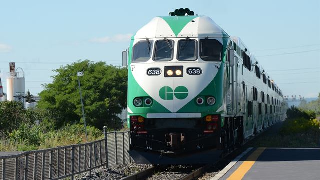 GO Train briefly stopped at Oakville's Bronte Station following assault on train