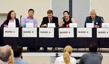 Ward 3 and 4 Richmond Hill candidates