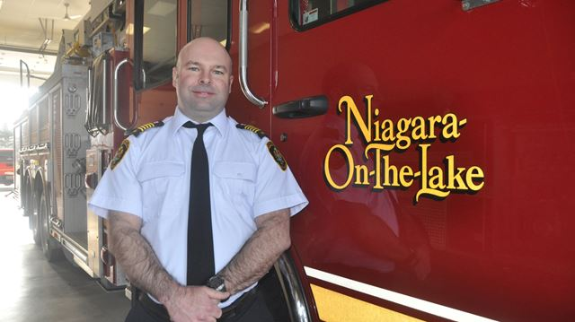 New Niagara-on-the-Lake fire chief
