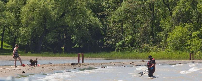 Lake Ontario water levels declining