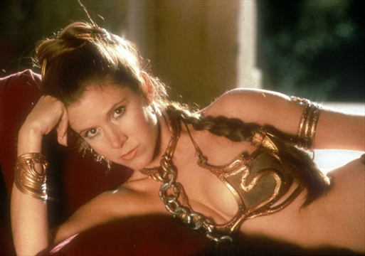 Right! Idea Nude women dressed as princes leia