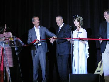 Hadfield opens field house