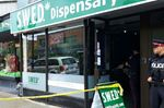 Marijuana dispensary raid