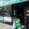 Marijuana dispensary raid