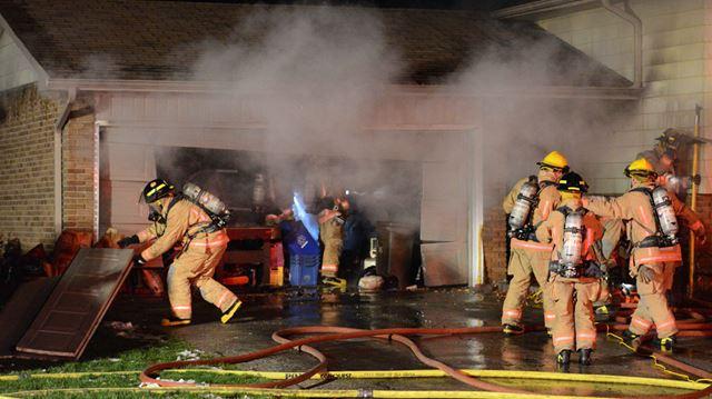 Fire on Verhoeven Road