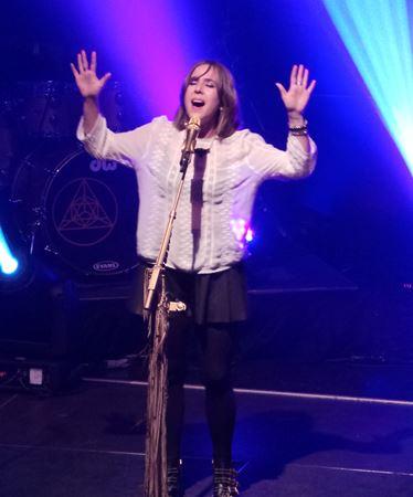 Serena Ryder in concert in Peterborough - July 3, 2014