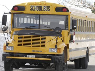 Drivers charged with failing to stop for school bus