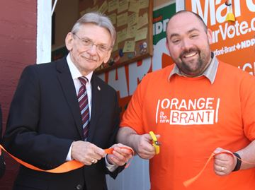 NDP Campaign office open