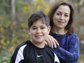 Oakville mom and son share passion for acting