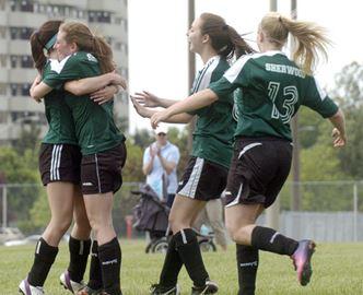 Sherwood Saints win Division 2 girls soccer title